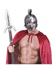 Casco gladiador con cresta adulto
