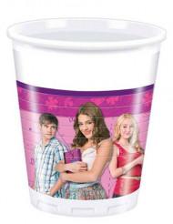 8 Vasos de plástico Violetta™ 20 cl