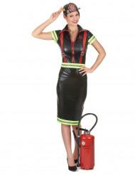Disfraz bombero mujer