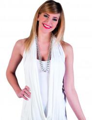 Collares de perlas plata adulto