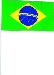 Set de banderas de Brasil
