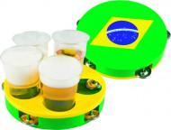 Tambor-bandeja Brasil
