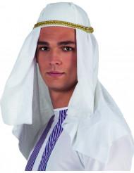 Cofia emir árabe adulto