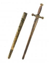 Espada con funda