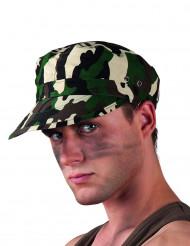 Gorra militar camuflaje adulto