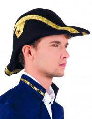 Sombrero bicornio adulto