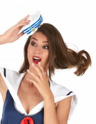 Mini sombrero marinero mujer