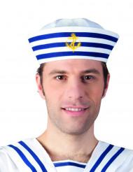 Sombrero marinero rayas adulto