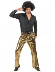 Pantalón dorado hombre