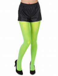 Medias verde fluorescente adulto