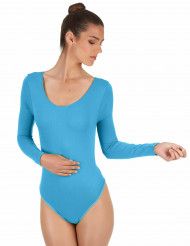 Body azul turquesa adulto