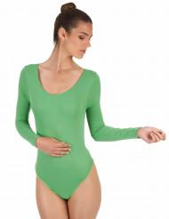 Body verde adulto
