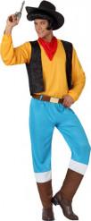 Disfraz vaquero amarillo hombre