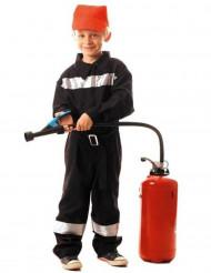 Disfraz bombero reflectante niño