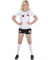Disfraz de futbolista Alemania mujer