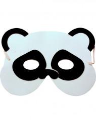 Máscara de panda niño o niña