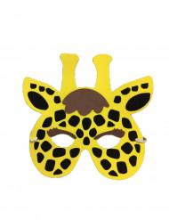 Máscara de jirafa niño o niña