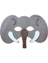 Máscara de elefante niño o niña