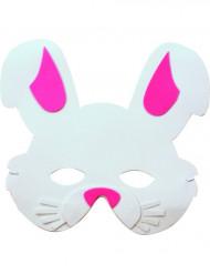 Máscara de conejo para niño