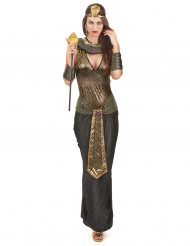 Disfraz de reina del Nilo mujer