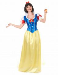 Disfraz princesa Blancanieves mujer