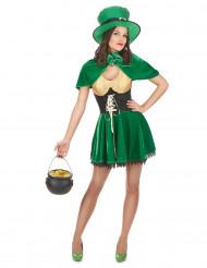 Disfraz duende San Patricio mujer