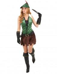 Disfraz mujer de los bosques adulto
