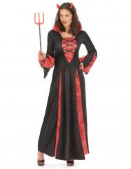Disfraz de diablesa rojo mujer