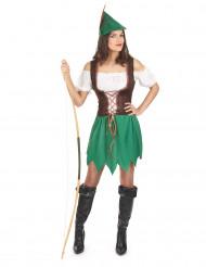Disfraz mujer de los bosques