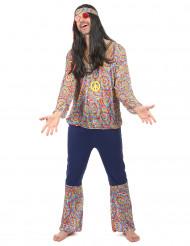Disfraz hippie zen hombre