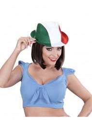 Sombrero de hincha Italia adulto