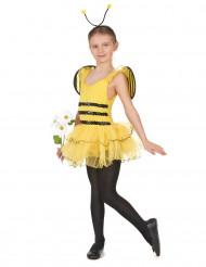 Disfraz de abeja niña con antenas