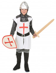 Disfraz caballero niño cruz roja
