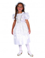 Disfraz novia niña