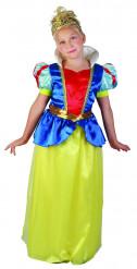 Disfraz princesa de las nieves para niña