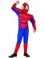 Disfraz Superhéroe hombre araña niño