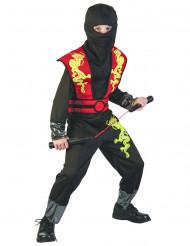 Disfraz de ninja niño