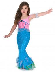 Disfraz sirena niña