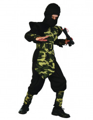 Disfraz ninja militar para niño