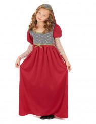 Disfraz medieval niña