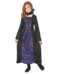 Disfraz vampiresa violeta niña