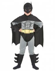 Disfraz superhéroe hombre murciélago niño