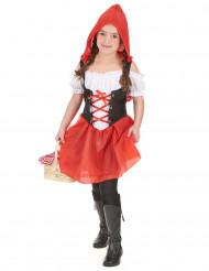 Disfraz caperucita roja niña