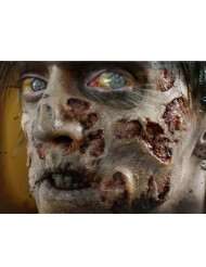 Heridas horribles zombi aplicación con agua