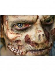 Heridas zombi aplicación con agua