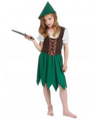 Disfraz de niña del bosque