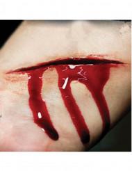 Heridas rajas aplicación con agua