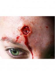 Heridas quemaduras en la piel aplicación con agua