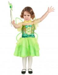 Disfraz de hada verde niña