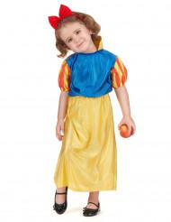 Disfraz de princesa del bosque niña